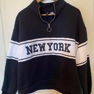 H&M Half Zip Sweatshirt